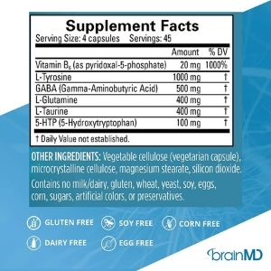 BrainMD Neurolink Ingredients Review: What is inside?