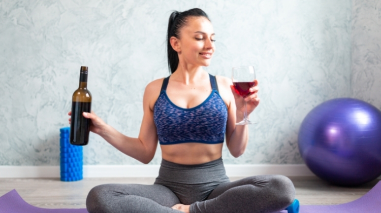 how to drink wine and lose weight